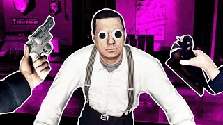 I BECAME A CORRUPT COP and ROBBED A GUN STORE in L.A. Noire VR!