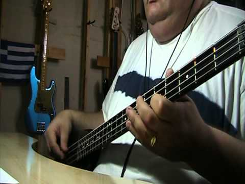 The Bee Gees Words 1997 concert in the MGM Grand in Las Vegas Bass Cover