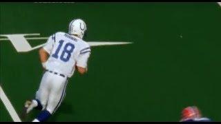 Peyton Manning's Longest Career Run    Colts at Bills 2001