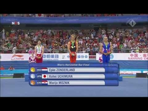 Epke Zonderland World Champion Horizontal Bar Nanning China 2014 HD