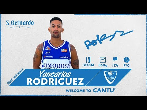 Welcome To Cantù: Yancarlos Rodriguez