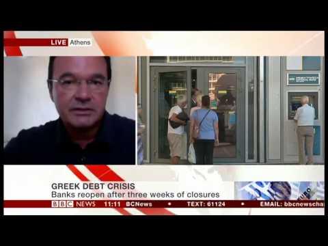 George Papaconstantinou on BBC News - 20.07.2015