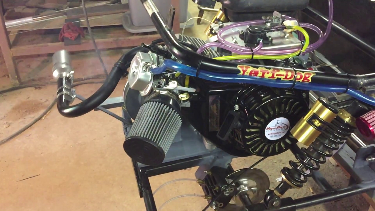 Vegas Carts Mofified by NR Racing test start 460cc