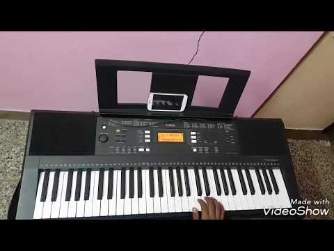 Sketch theme music in keyboard cover by Thrishal