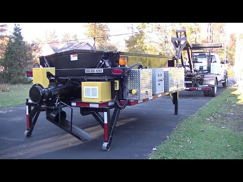 ASPHALT HEATER HOOK LIFT OPTION