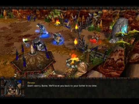 let s play warcraft iii the frozen throne 110 baine bloodhoof