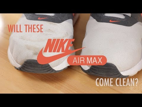 UNBOXING Shoe M.G.K.and Nike Air Max Sneaker Cleaning