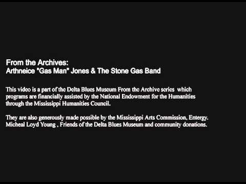Delta Blues From the Archives - Arthneice Gas Man Joenes & the Stone Gas Band