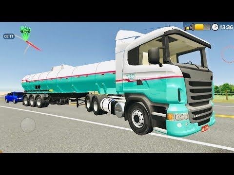 The Road Driver - Gasoline Tank Truck Delivery |