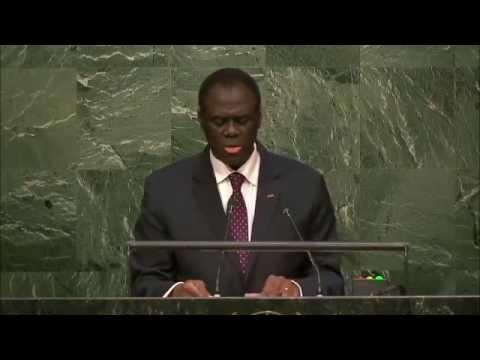 Discours de Michel kafando à l'ONU