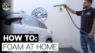 How To Foam Wash Without A Pressure Washer! - Chemical Guys