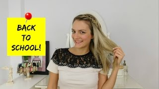 Back To School: 3 Easy Running Late Hairstyles & Makeup | Marinelli