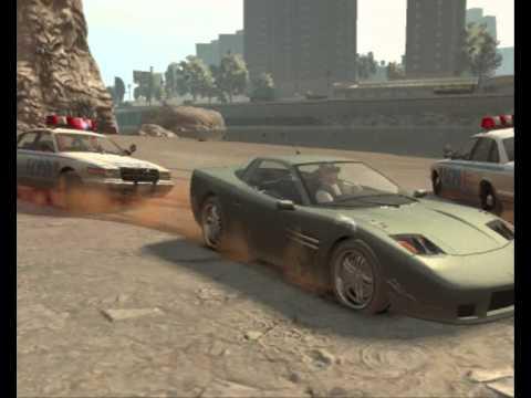 Gta  Car Stunts And Crashes