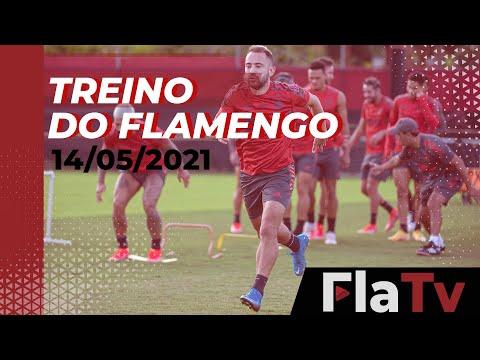 TREINO FLAMENGO – Preparação finalizada para a final do Carioca