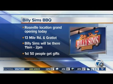 New Billy Sims BBQ restaurant
