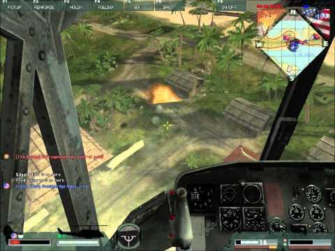 Battlefield Vietnam Helicopter Flying