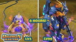 Digimon Masters Online - LEVEL 1 to LEVEL 99 in 8 Hours! (Tutorial)