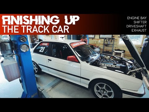 WRAPPING UP THE M52B28 SWAPPED E30 TRACK CAR
