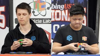 CubingUSA Nationals 2018 3x3 Finals! (feat. Feliks Zemdegs, Philipp Weyer, Max Park)