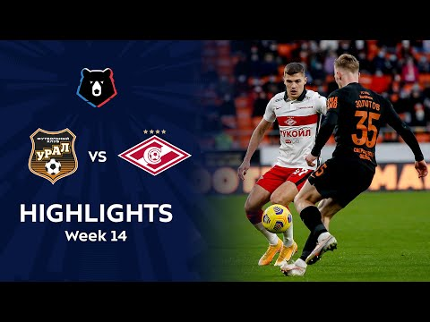 Ural Spartak Moscow Goals And Highlights