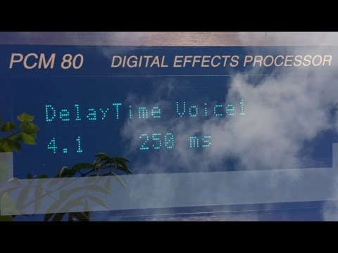 Lexicon PCM 80 effects demo, by Pulse Emitter