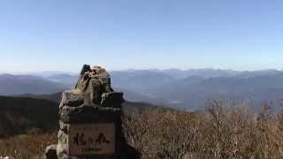 高知県 大豊町 梶ヶ森 登山