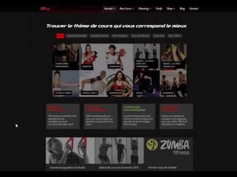 Site E-Commerce - Studio INEDIT FITNESS