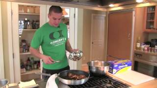 Crossfit - Cooking Honey Sesame Chicken Thighs
