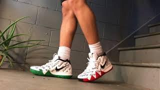 792b7920f1f Nike Kyrie 4 BHM (Equality) - On Feet - YouTube