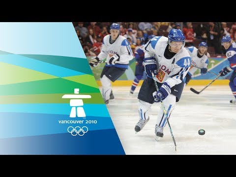 Finland vs Slovakia - Men's Ice Hockey - Bronze Medal Game - Vancouver 2010 Winter Olympic Games