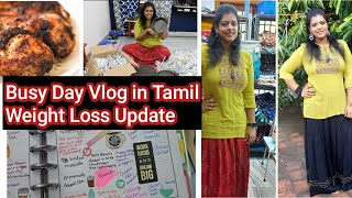 Busy Day Vlog   Grilled chicken   New Iron Vessels Shopping   Weight loss Update   Fitness Planner