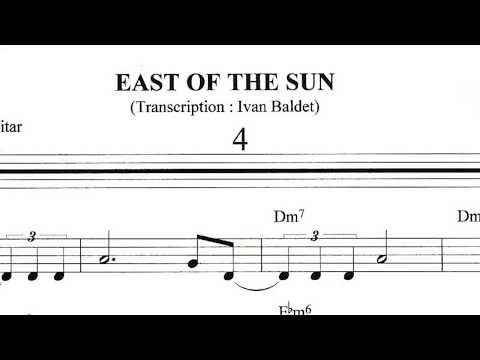 Scott Hamilton plays : East Of The Sun (Solo Transcription)