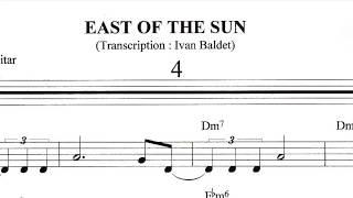 Scott Hamilton plays : East Of The Sun (Solo Transcription)