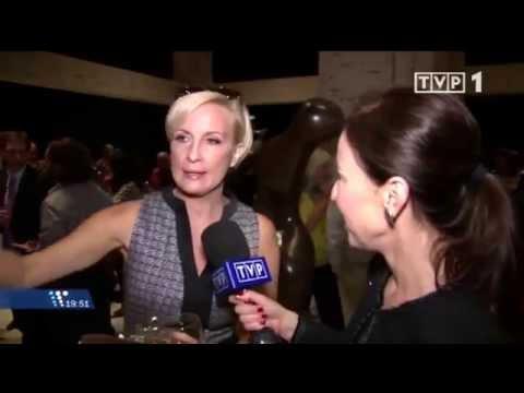 Emilie Brzezinski interview with TVP 1 - Sept. 2014