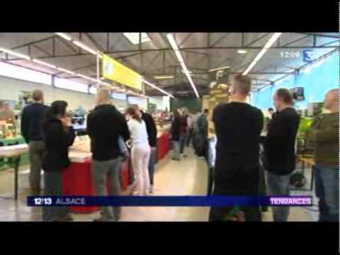 Bourse illkirch 2010 RTC reportage france 3