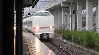 特急しらさぎ12号名古屋行681系西金沢駅通過※接近メロディー「村の鍛冶屋」あり