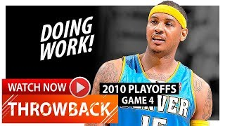 Throwback: Carmelo Anthony Full Game 4 Highlights vs Jazz (201…