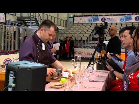 2013 World Barista Championship, Round 1 - Michael Putnik, Croatia