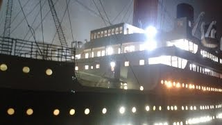 Titanic model (built 2008-2012)