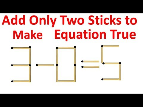 Match Stick & Square Problem 3