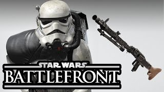 Star Wars Battlefront 3: New Stormtrooper + First Weapon Confirmed!