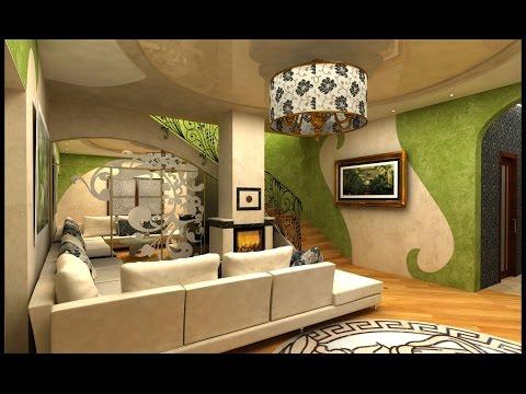 Проект интерьера частного дома в Варваровке. Николаев.