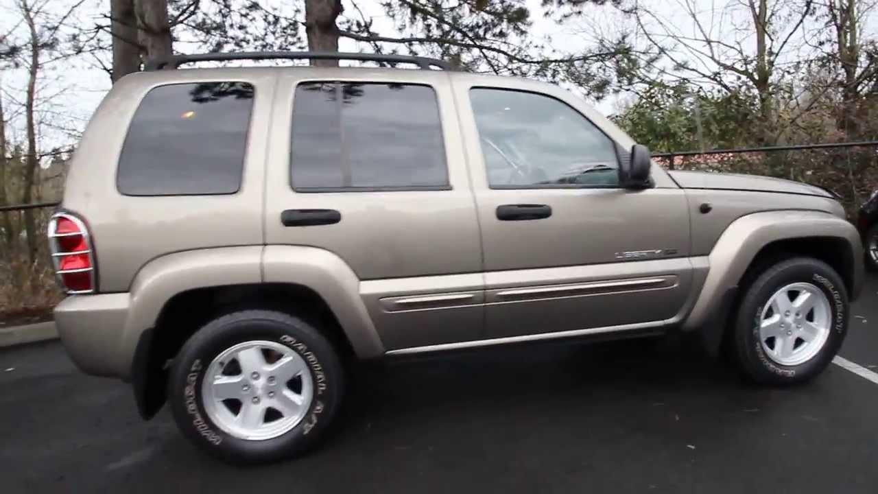 2003 Jeep Liberty Limited 3w713049 Gold Redmond