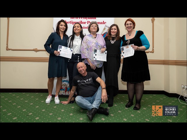 Noiembrie 2019, Georges Colleuil in Romania