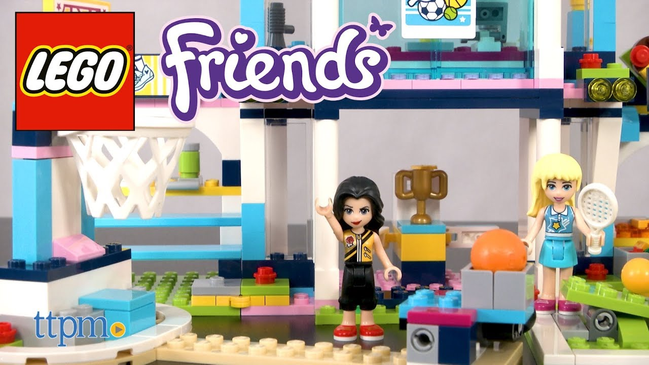 Lego Friends Stephanies Sports Arena From Lego Youtube