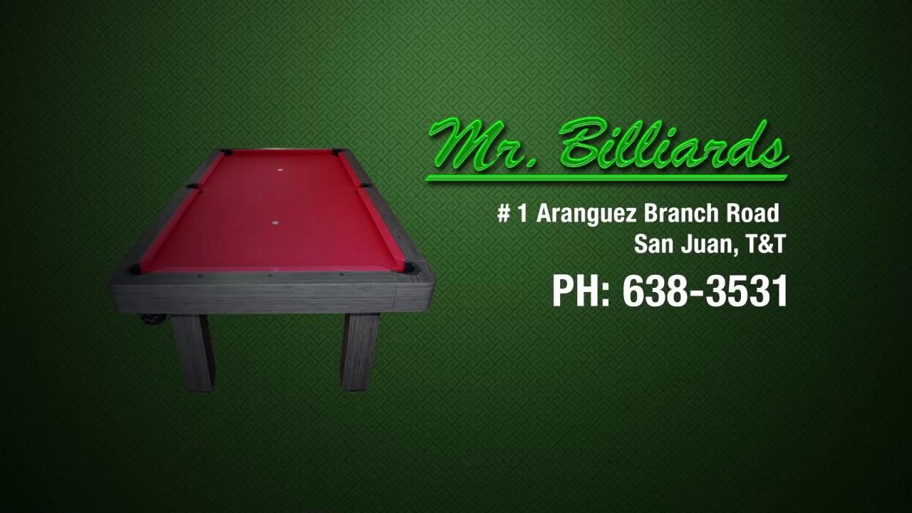 Mr Billiards NuVec Pool Tables YouTube - Mr billiards pool table
