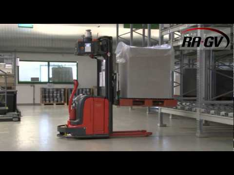 MANUAL forklift and AGV in one!