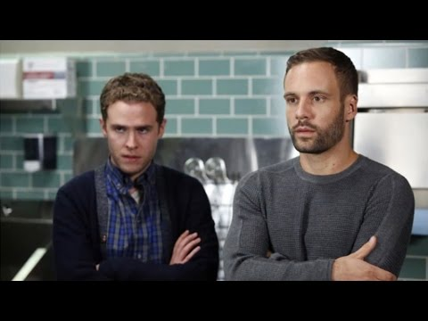 Agents of Shield Iain De Caestecker and Nick Blood  at MCM London Expo  Airlim