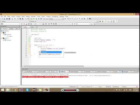 For loop - prime numbers example - c programming tutorials for beginners