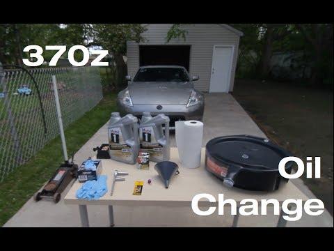 Фото к видео: Как сменить масло в Nissan 370z.